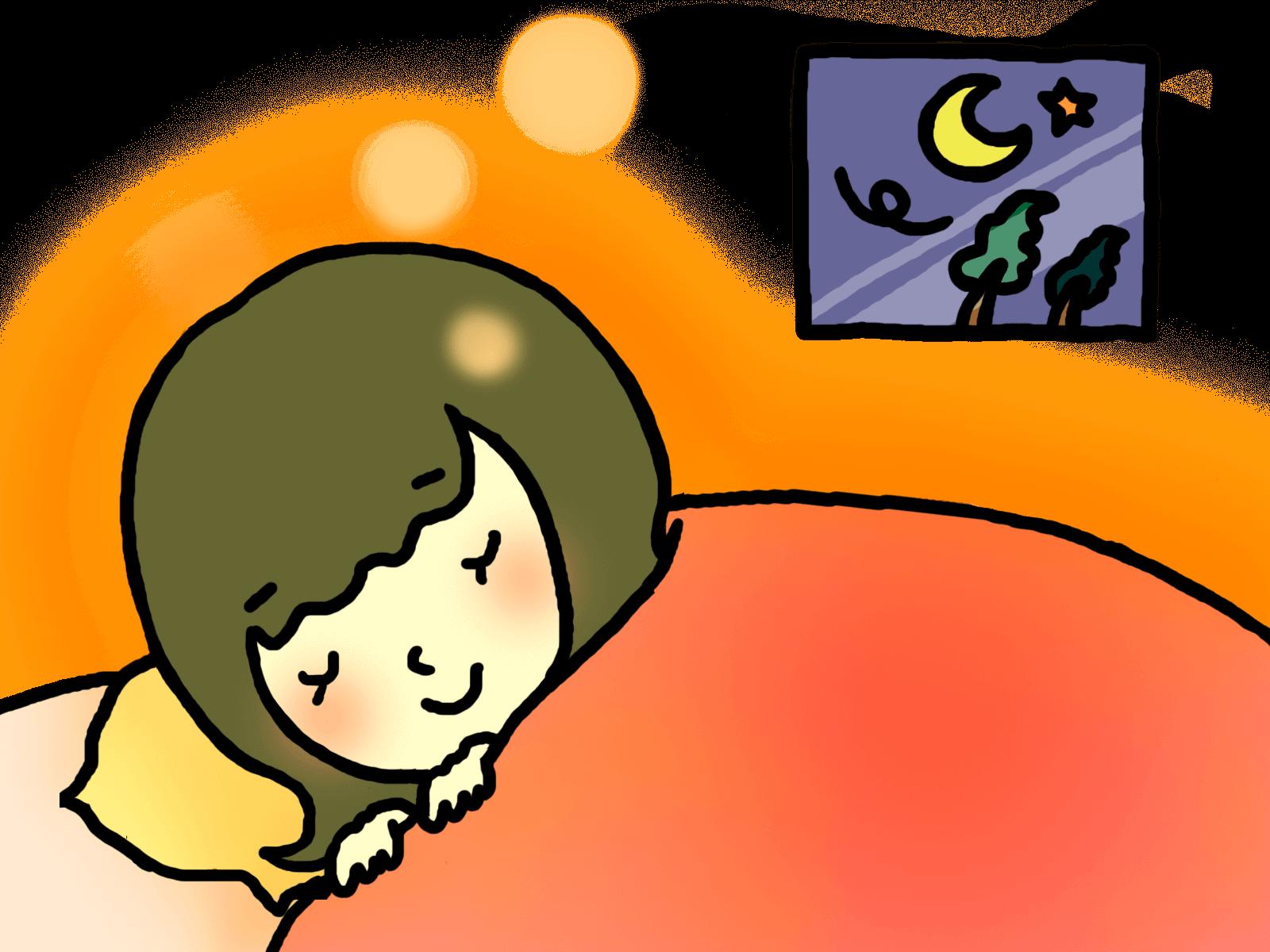 ベッド温かいリンパマッサージ
