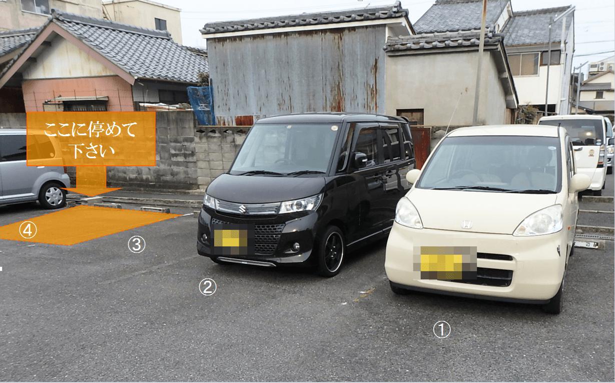 津市HEADS駐車場アクセス⑤