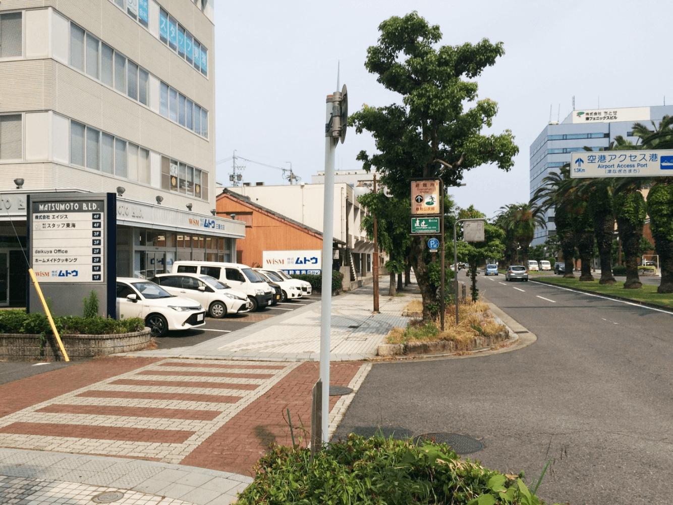 市HEADS駐車場アクセス②